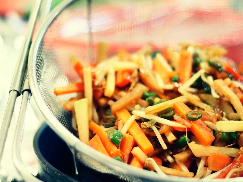 Receta de pitón al estilo asiático con Carnes Carrasquilla