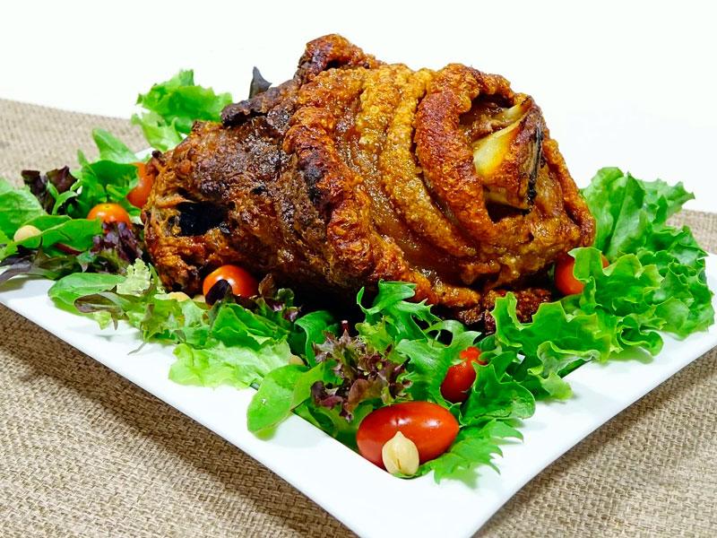 Codillo de cerdo al horno - Carnes a domicilio