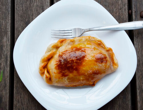Empanadas de guanaco al estilo argentino