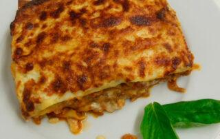 Receta de musaka griega fácil - Carnes Carrasquilla