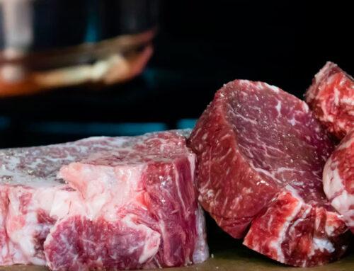 Marmoleado de la carne